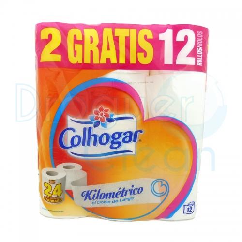 Colhogar Papel Higienico Kilometrico 12 Rollos