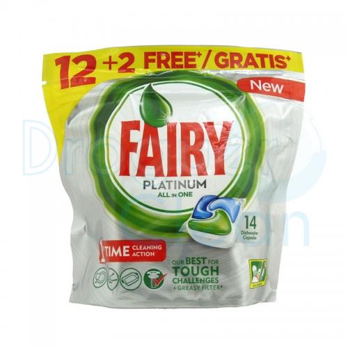 Fairy Maquina Platinum Capsulas 12+2 Uds