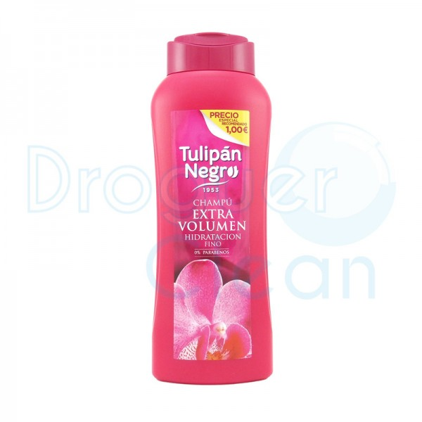 Tulipán Negro Champú Extra Volumen 400 Ml