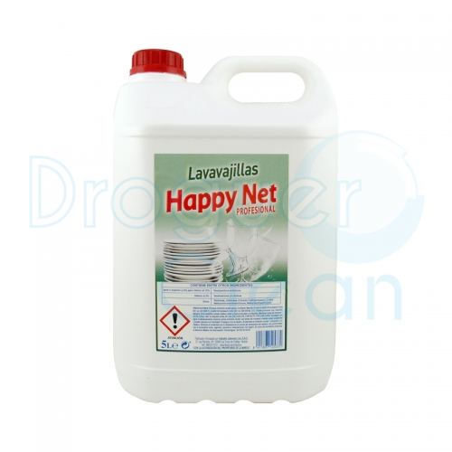 Happy Net Detergente Vajillas Manual Profesional 5 L