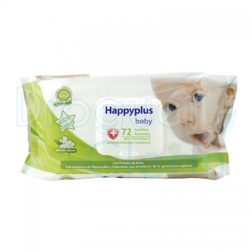 Happy Net Baby Toallitas 72 Servicios