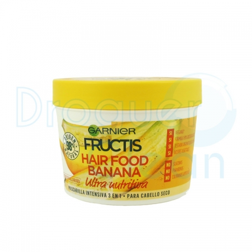 Garnier Fructis Mascarilla Hair Food Banana 390 Ml