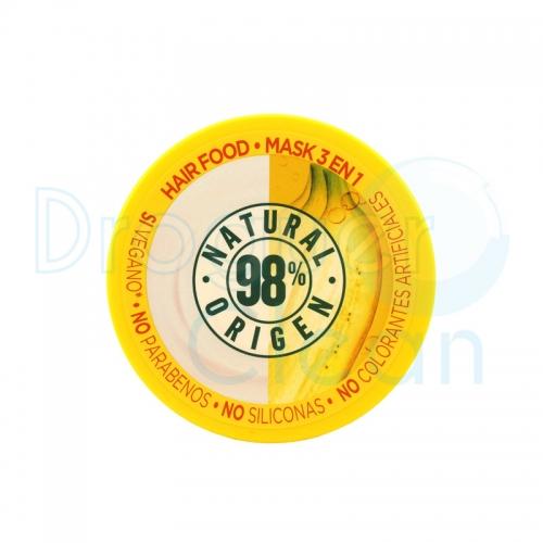 Garnier Fructis Mascarilla Hair Food Banana 390 Ml