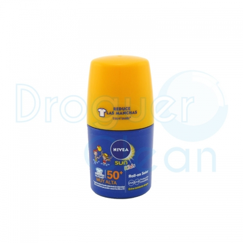 Nivea Roll-on Solar Niños Spf50+ 50 Ml