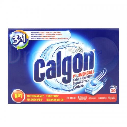 Calgon Pastillas 30 Uds