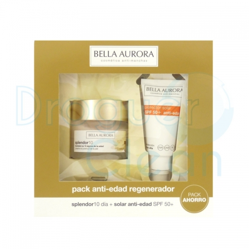 Bella Aurora Splendor 10 Dia Spf 20 50 Ml + Serum Solar Anti-edad Spf 50+