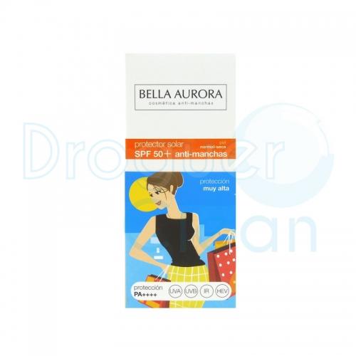 BELLA AURORA FLUIDO SOLAR SPF50+ ANTI-MANCHAS PIEL NORMAL/SECA 50 ML