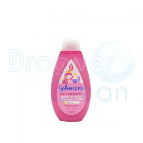 Johnson'S Baby Champú Infantil Gotas De Brillo 500 Ml