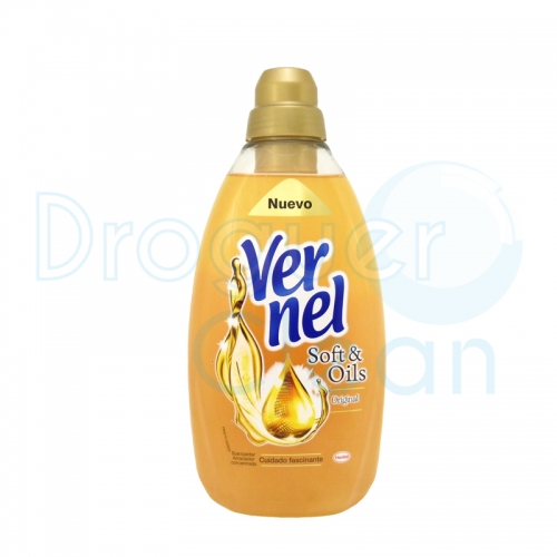 Vernel Suavizante Concentrado Soft & Oils Gold 1500 Ml