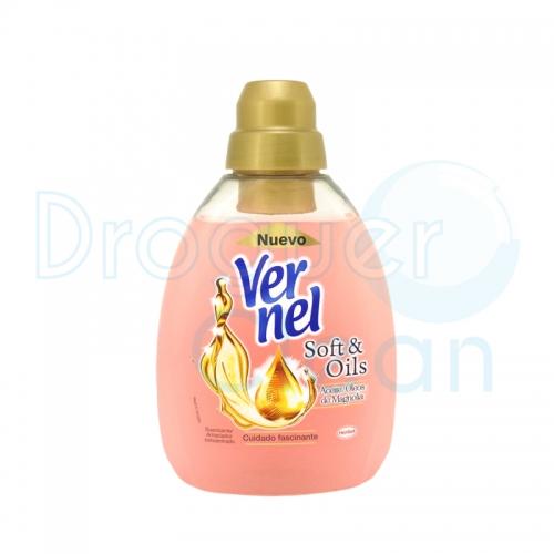 Vernel Suavizante Concentrado Soft & Oils Magnolia 750 Ml