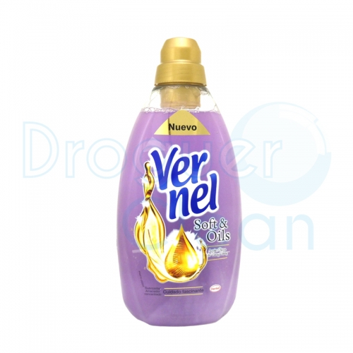 Vernel Suavizante Concentrado Soft & Oils Ylang 1500 Ml