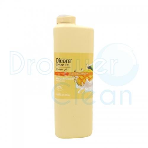 Dicora Gel De Baño Mango & Aguacate Vitamina E 750 Ml
