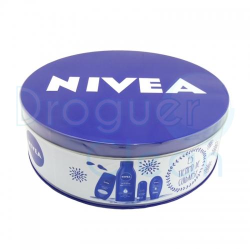 Nivea Lata Body Milk, Gel De Ducha, Crema De Manos y Desorodante