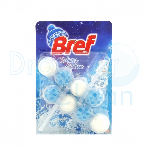 Bref Wc Ice Blue Activ Colgador Duplo Winter Edition