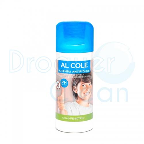 Al Cole Kit Antipiojos Loción, Gorro, Peine Lendrera Y Champú.