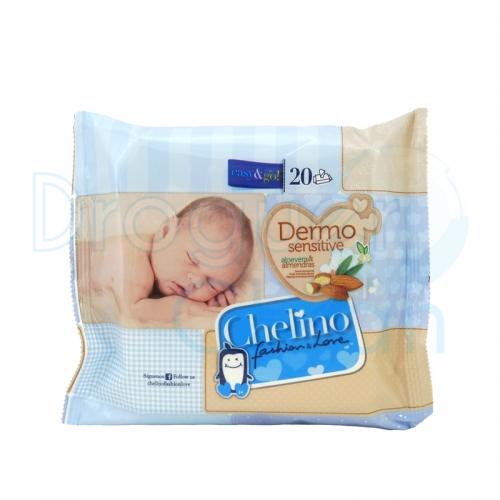 Chelino Toallitas Dermo Sensitive 20 Servicios