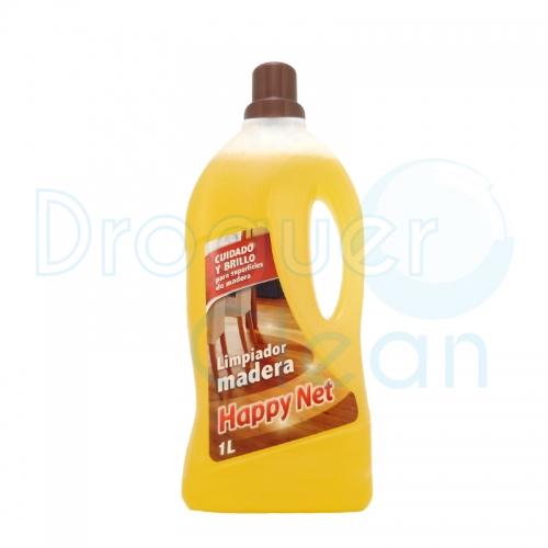 Happy Net Limpiador Madera Jabonoso 1 L