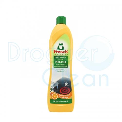 Frosch Vitrocerámicas Crema Naranja 650 Ml