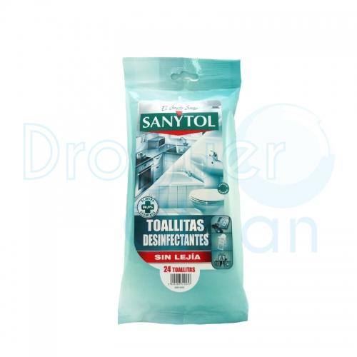 Sanytol Toallitas Desinfectantes Sin Lejía 24 Uds