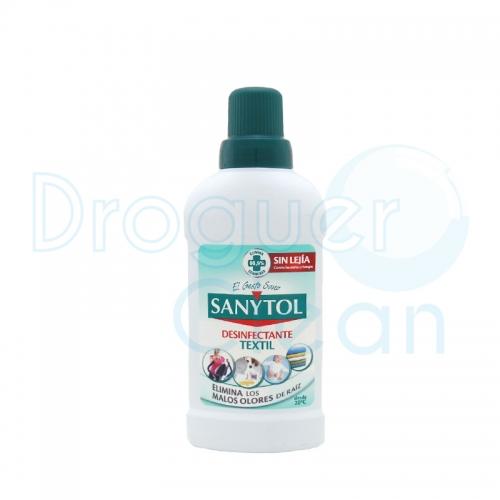 Sanytol Desinfectante Textil Sin Lejía Anti-Olores 500 Ml