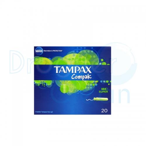 Tampax Compak Super 20 Servicios