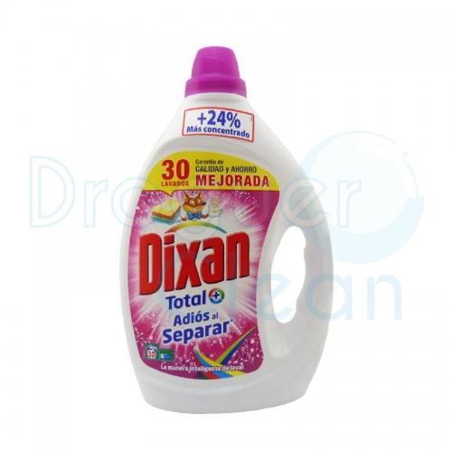 Dixan Detergente Líquido Adiós Al Separar 30 Dosis 1860 L