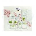Dove Pack Secretos Gel De Baño, Loción Corporal, Desodorante Y Crema Manos