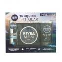 Nivea Men Creme 150 Ml, Desodorante Invisible 200 Ml Y Gel Ducha Active 250 Ml