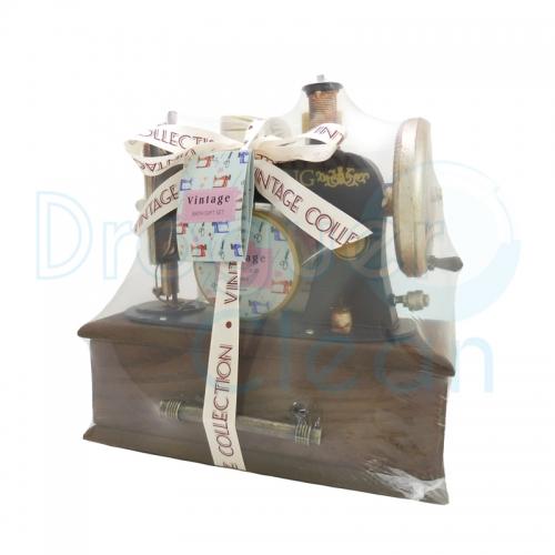Máquina Coser Vintage Decorativa Gel De Ducha Y Body Milk