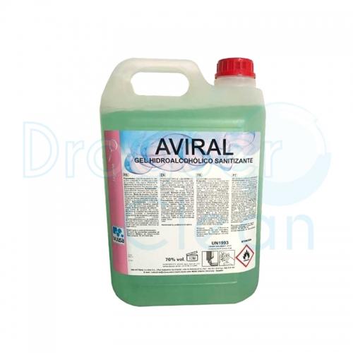 Aviral Gel Antiséptico Hidroalcohólico Manos 5 L