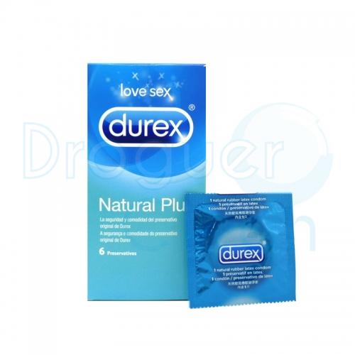Durex Natural Plus Preservativos 6 Uds