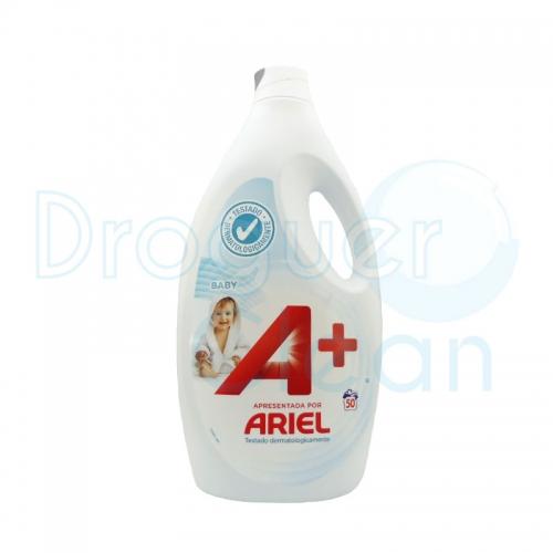 A+ Baby Detergente Líquido 50 Dosis 3,250 Ml