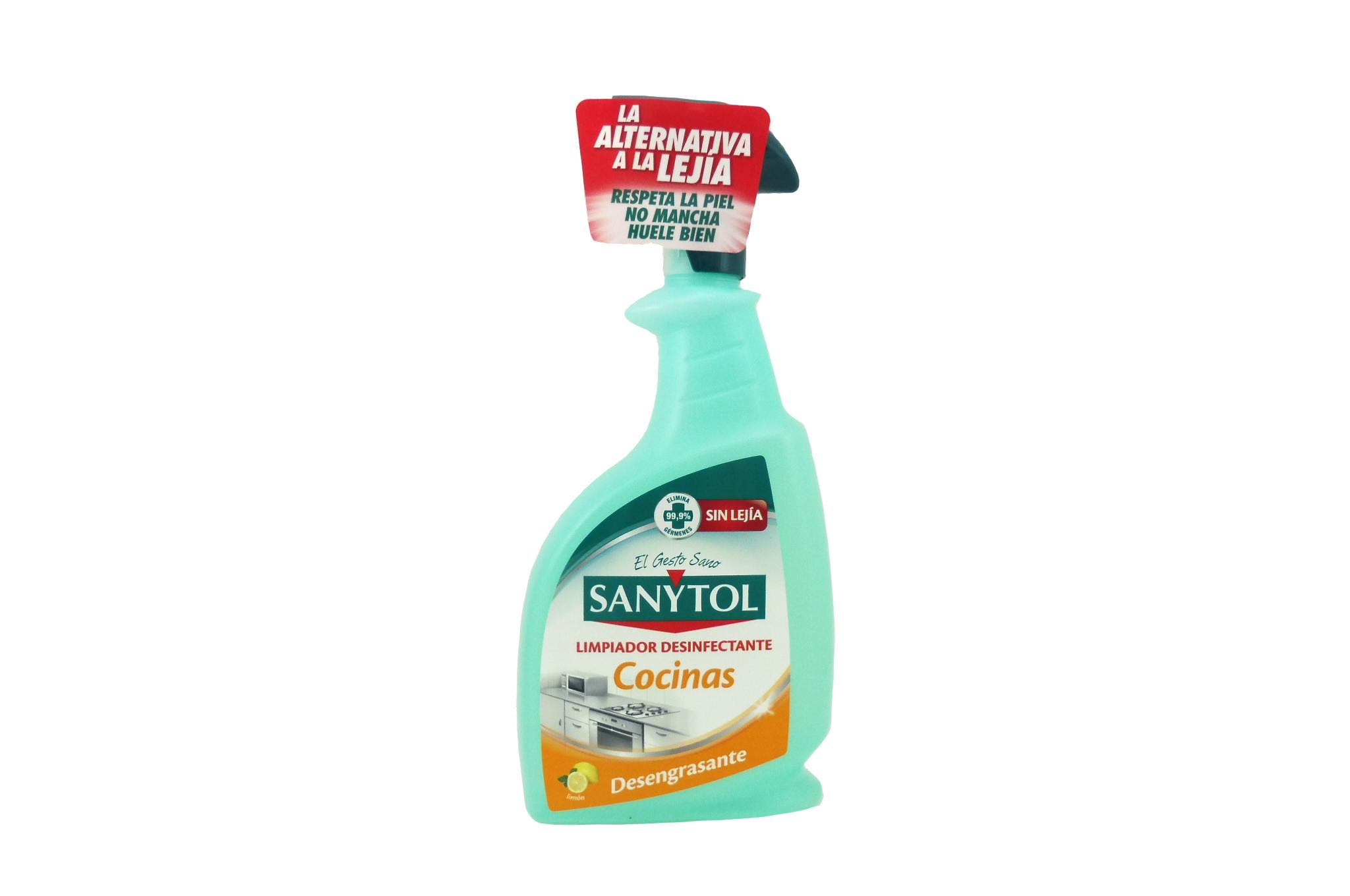 Sanytol Cocinas desinfectacte y quitagrasas