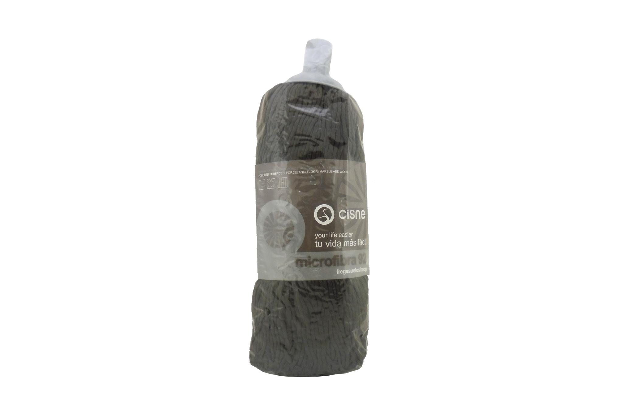 Fregona microfibra negra Cisne