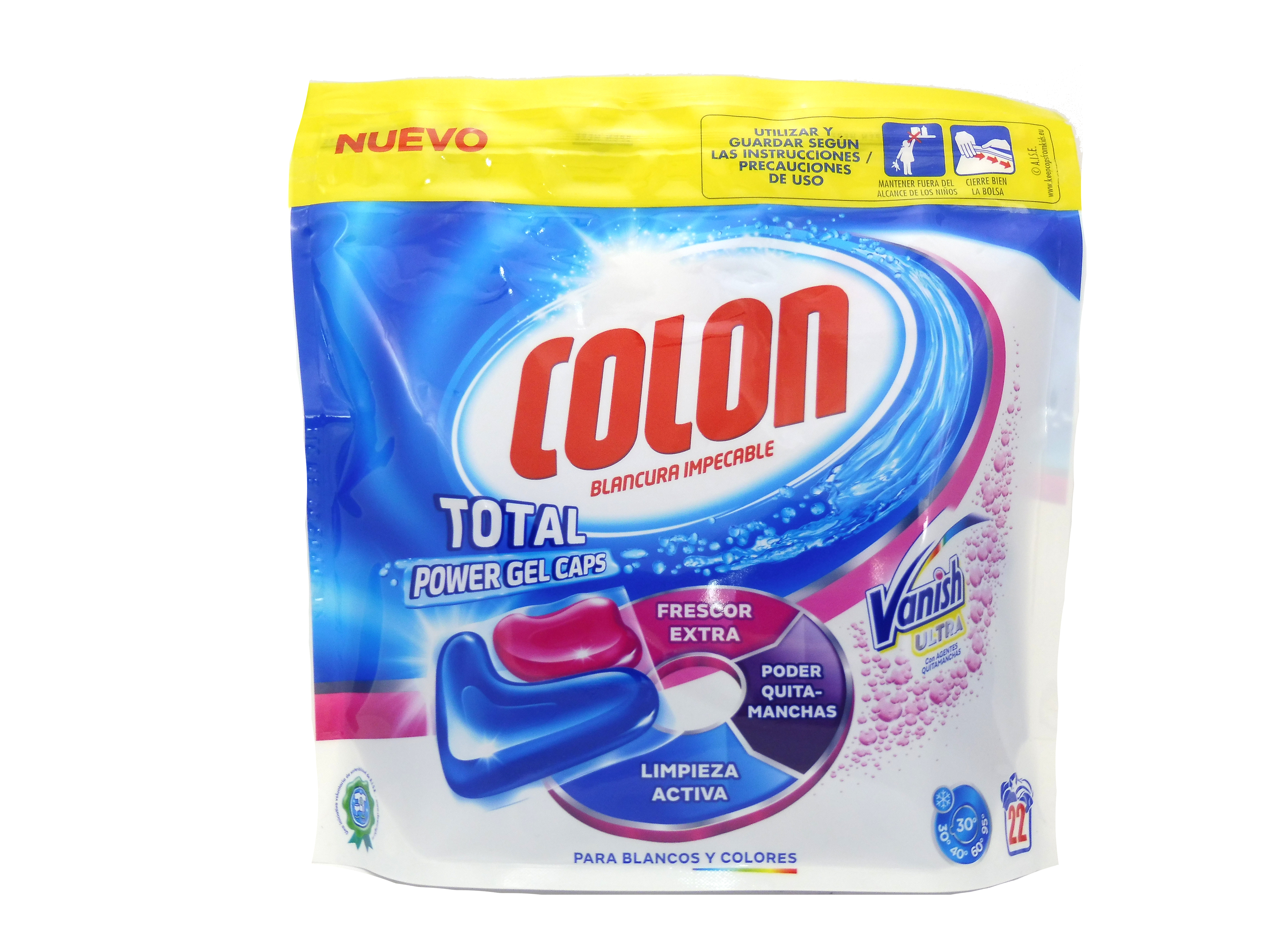 Colon Power Gel Vanish Ultra Capsulas 22 Uds