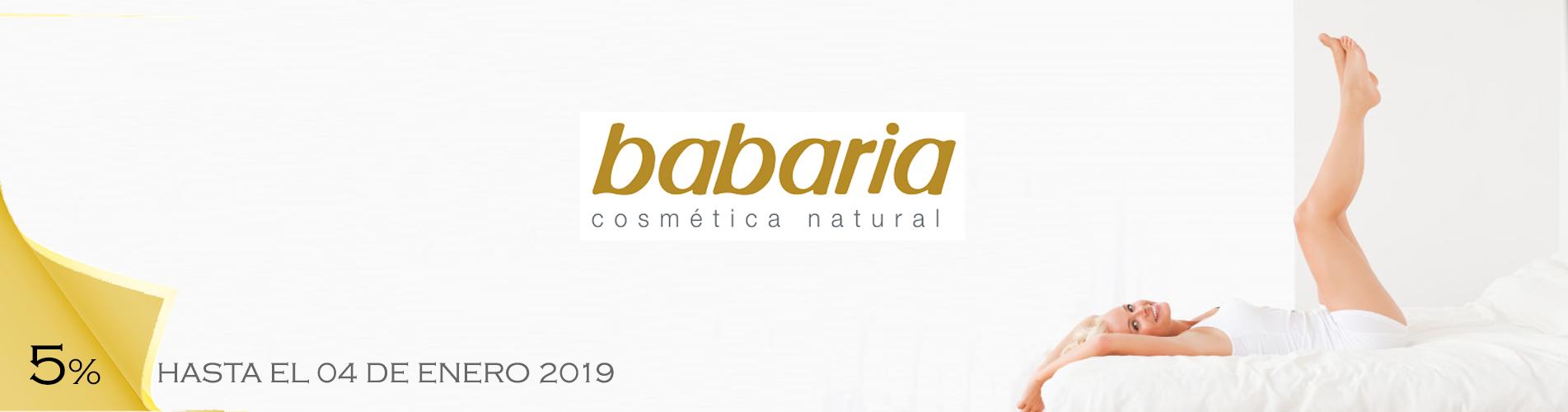 5% Dto Babaria cosmética y cuidado personal