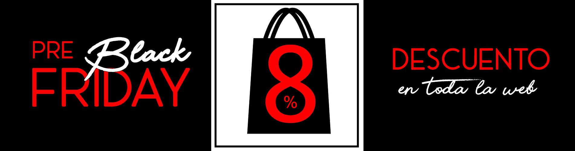 8% Descuento Aplicado en toda la Web