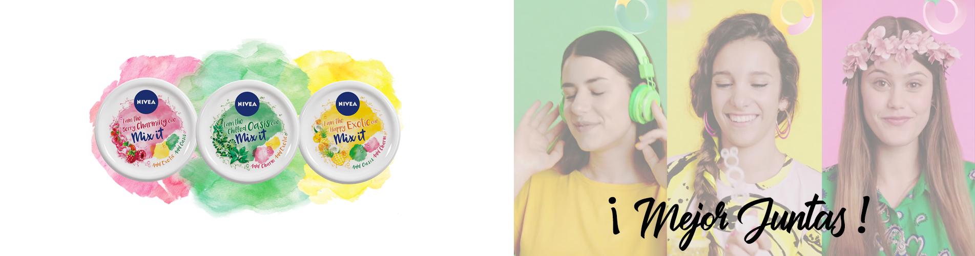 Nivea Soft Mix loción hidratante con nuevos aromas