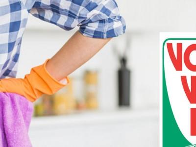 Limpieza multiusos Volvone, resultados brillantes para el hogar sin dañar las superficies ni los tejidos.