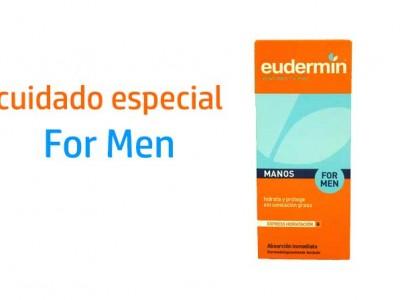 Eudermin Crema De Manos Hombre Hidratación Express