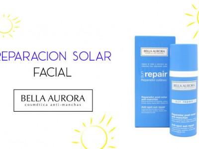 Bella Aurora Sun Repair, reparador facial y libre de manchas solares en la piel